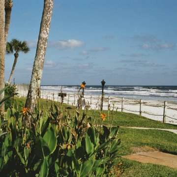 Florida Apartement - Strand von New Smyrna Beach